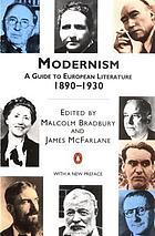 Modernism : 1890-1930
