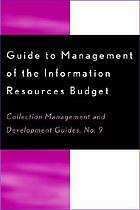 Guide to the management of the information resources budget