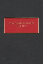 Fort Orange Records, 1654-1679