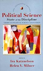 Political science : state of the discipline