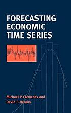 Forecasting economic time series