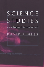Science studies : an advanced introduction