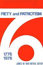 Piety and patriotism : Bicentennial studies of the Reformed Church in America, 1776-1976