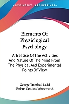 Elements of physiological psychology; a treatise of the activities and nature of the mind, from the physical and experimental points of view