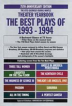 The best plays of 1993-1994