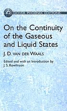 On the continuity of the gaseous and liquid states