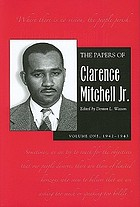 1942-1943The papers of Clarence Mitchell, Jr 1942-1943