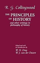 The principles of history and other writings in philosophy of history