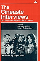 "The Cineaste interviews : on the art and politics of the cinemaThe ""Cineaste"" interviews on the art and politics of the cinema"