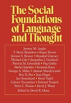 The Social foundations of language and thought : essays in honor of Jerome S. Bruner