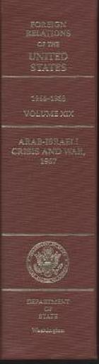 Arab-Israeli crisis and war, 1967