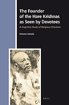 The founder of the Hare Krishnas as seen by devotees a cognitive study of religious charisma