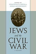 Jews and the Civil War : a reader