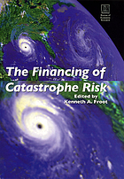 The financing of catastrophe risk