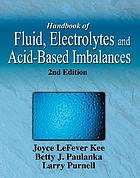 Handbook of fluid, electrolyte, and acid-based imbalances