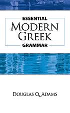 Essential modern Greek grammar