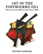 Art of the postmodern era : from the late 1960s to the early 1990s