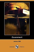 The article Government, reprinted from the supplement to the Encyclopdia Britannica