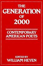 The Generation of 2000 : contemporary American poets