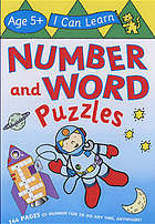 Number and word puzzles : age 5+
