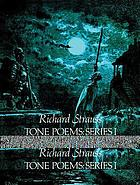 Tone poems : in full orchestral score