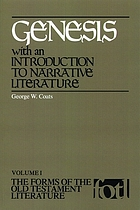 Genesis, with an introduction to narrative literature Genesis : with an introduction to narrative Genesis : with an introduction to narrative literature