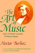 The art of music and other essays = (A travers chants)