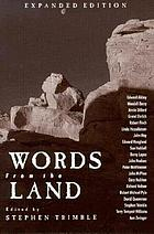 Words from the land : encounters with natural history writing