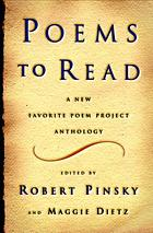Poems to read : a favorite poem project anthology