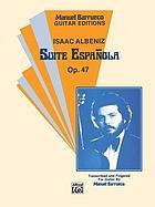 Suite española : for the piano