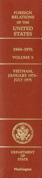 Vietnam, January 1973-July 1975