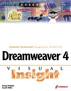 Dreamweaver 4 visual insight