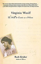 Virginia Woolf : the will to create as a woman