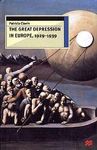 The great depression in Europe, 1929-1939