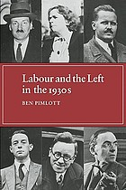 Labour and the Left in the 1930s