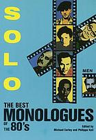 Solo! : the best monologues of the 80's (men)