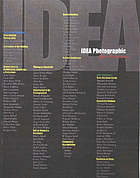 Idea photographic : after modernism : October 11, 2002-January 19, 2003 : a contemporary view of history from the photography collections at the Museum of Fine Arts in Santa Fe, Princeton University Art Museum and San Francisco Museum of Modern Art