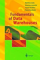 Fundamentals of data warehouses