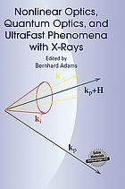 Nonlinear optics, quantum optics, and ultrafast phenomena with x-rays