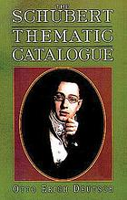 The Schubert thematic catalogue