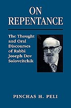 Soloveitchik on repentance