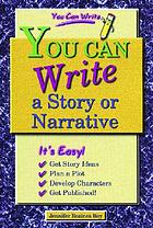 You can write a story or narrative