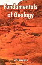 Fundamentals of geology; popular outline