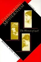 Refiguring modernism / the women of 1928