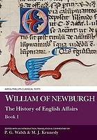 The history of English affairs
