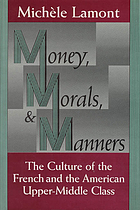 Money, morals, and manners : the culture of the French and American upper-middle class