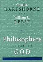 Philosophers speak of God