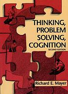 Thinking, problem solving, cognition