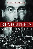 Revolution and other writings a political reader