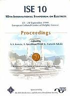 Proceedings / ... International Symposium on Electrets